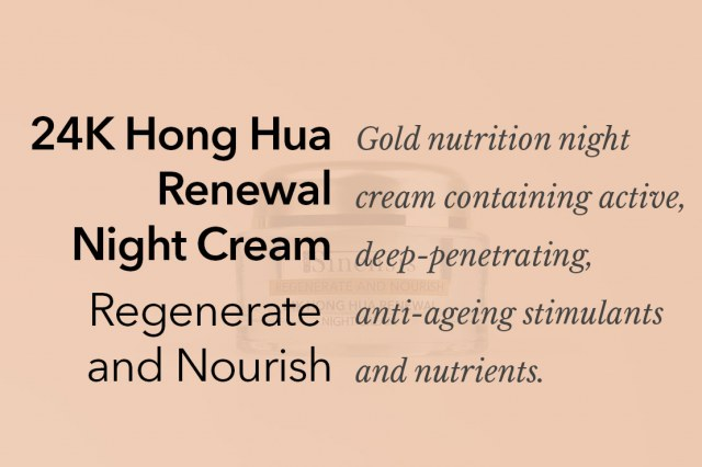 24k Hong Hua Renewal Night Cream